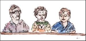 de Gruttola, OToole, Welch - sketch by Naia