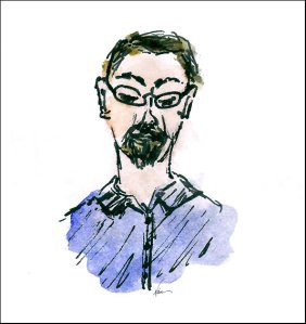 Jerome Cushman - sketch by Naia