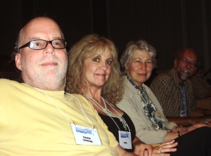 LtoR: David Lanoue, Naia, Patricia Donegan, Dennis Maloney (photo by Kolodji)