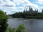 Parliament, Locks, OttawaRiver From Pont Alexandra Bridge