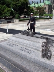 Tomb of the Unknown Soldier at the Canadian War Memorial